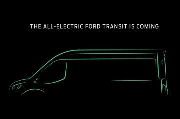 Elektrische Ford Transit op komst