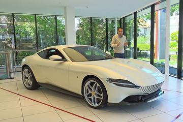 Ferrari Roma - Eerste kennismaking
