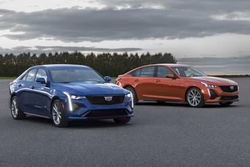 Cadillac presenteert CT4-V en CT5-V