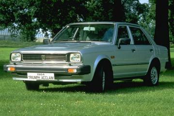 De laatste auto van Triumph was een Honda