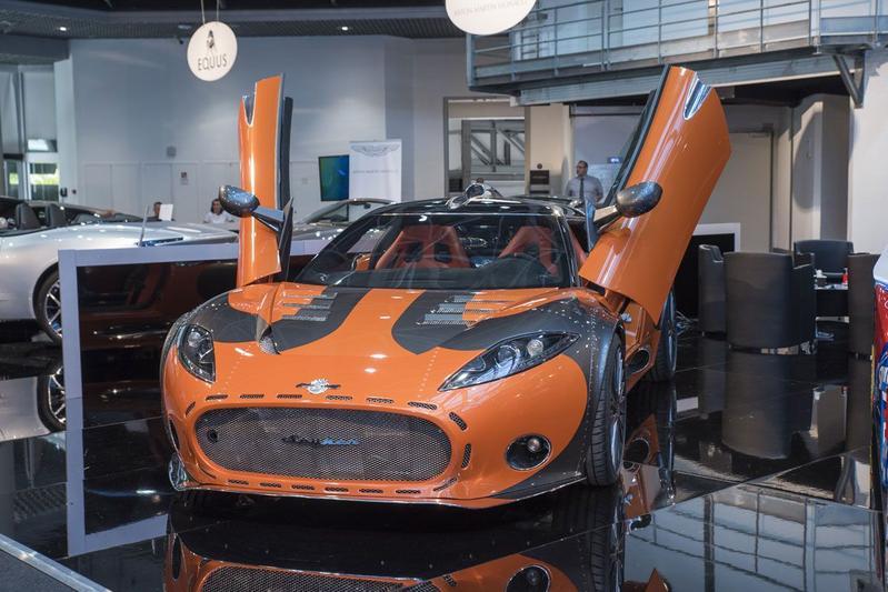Spyker C8 Aileron Top Marques Monaco