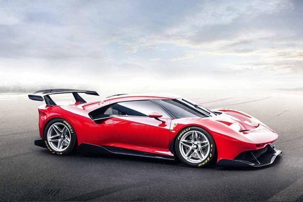 Ferrari onthult P80/C