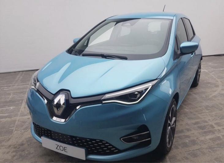 Renault Zoe watermerk