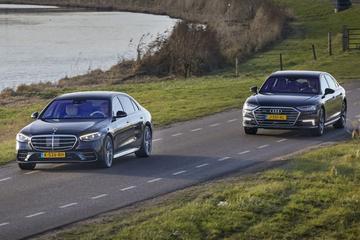 Audi A8 vs. Mercedes-Benz S-klasse - Dubbeltest