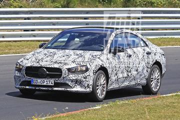Gesnapt: nieuwe Mercedes-Benz CLA-klasse