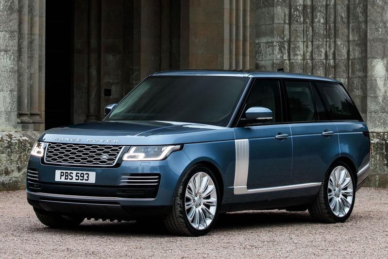 Leveringsgamma Range Rover aangepast