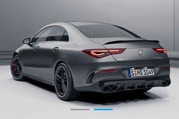 Mercedes-AMG CLA 45 duikt op