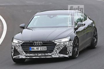 Audi RS7 Sportback jaagt over de 'Ring