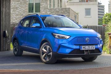 MG ZS EV: facelift brengt veel grotere actieradius