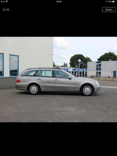 Mercedes-Benz E 200 Kompressor Elegance Combi (2003)