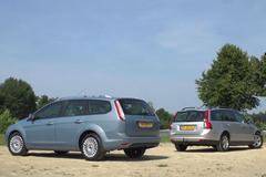 Ford Focus Wagon vs. Volvo V50 - Occasion Dubbeltest