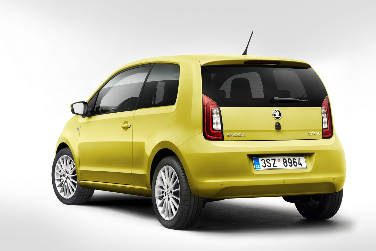 kleine facelift voor skoda citigo autonieuws. Black Bedroom Furniture Sets. Home Design Ideas