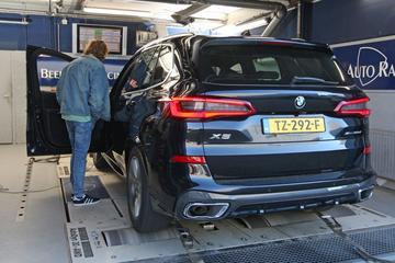 BMW X5 Xdrive 30d - Op de Rollenbank