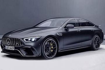 Gelekt: Mercedes-AMG GT Coupé