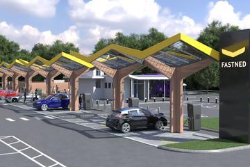 Fastned en Tesla bouwen snellaadstation in Engeland