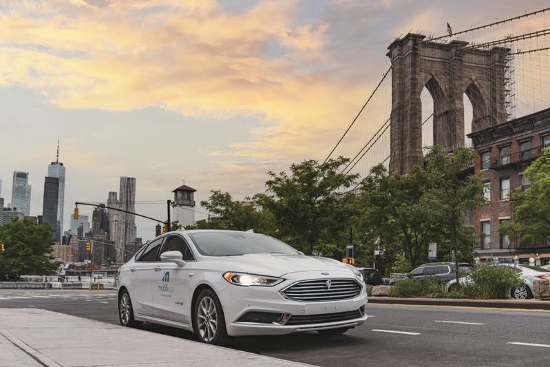 Mobileye Mondeo Ford Fusion New York Autonoom