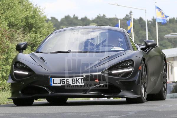 McLaren start testwerk met '750LT'