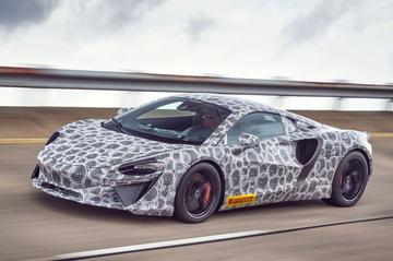 McLaren's nieuwe hybride supercar krijgt V6