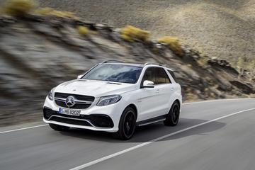 Dit is de Mercedes GLE-klasse, ook met 14%