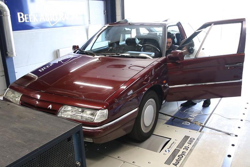 Citroën XM V6 - Op de Rollenbank