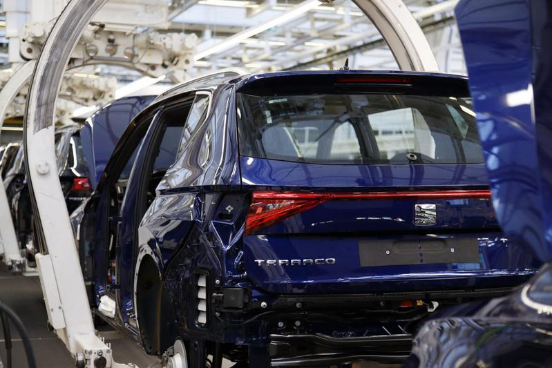 Fabriek Seat Tarraco productie