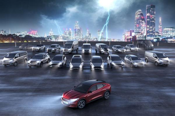 Ford blikt vooruit op elektrische nabije toekomst