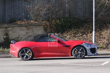 Jaguar test met extra heftige F-Type RS