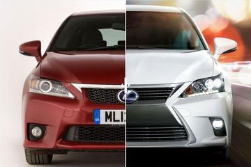 Facelift Friday: Lexus CT200h