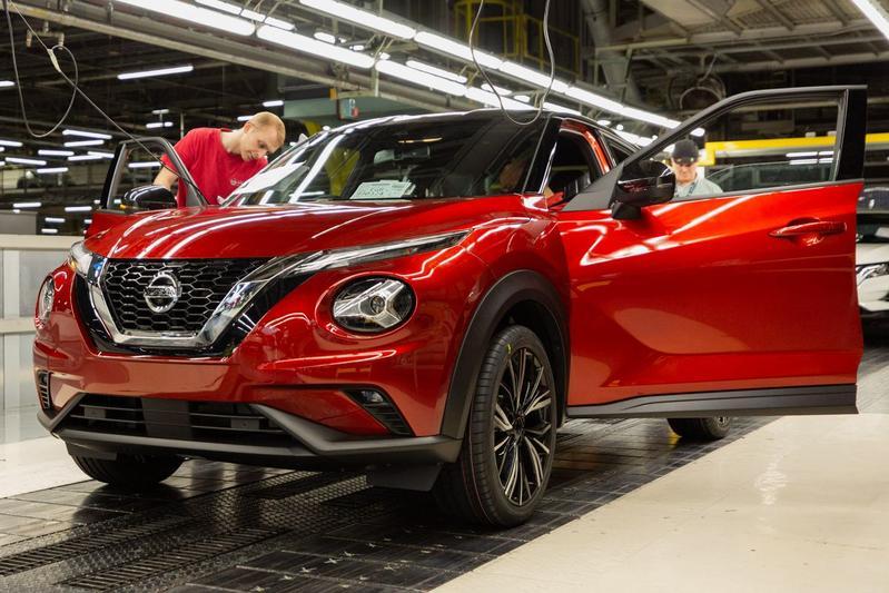 Nissan Juke productie UK Sunderland fabriek