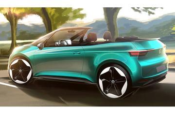 Volkswagen schetst ID3 Cabrio