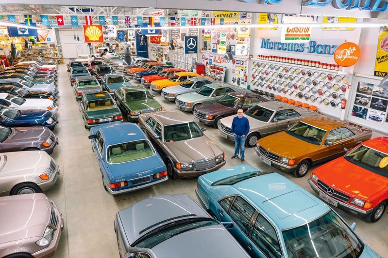 Grootste Mercedes S-klasse-verzameling van Europa