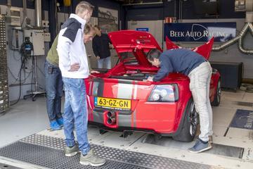 Opel Speedster 2.2-16V - Op de Rollenbank