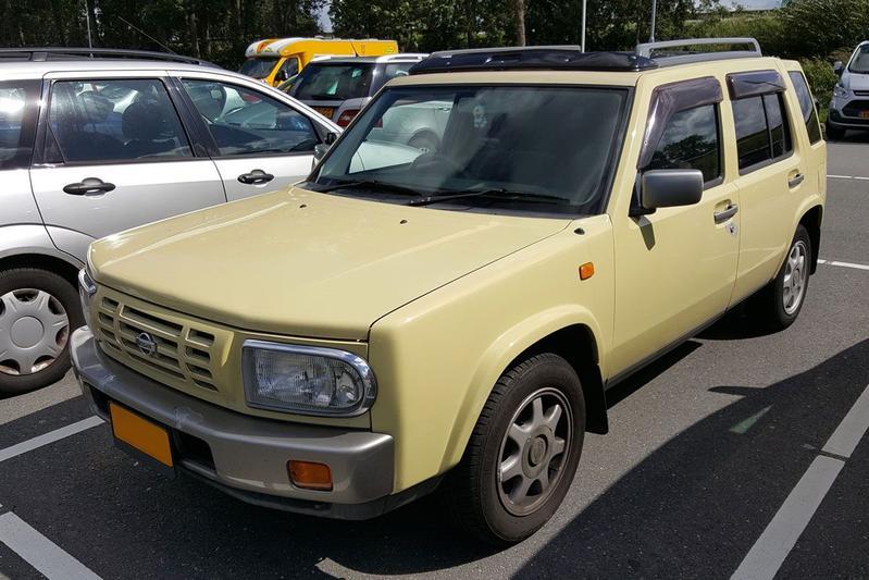 In het Wild: Nissan Rasheen (1996)
