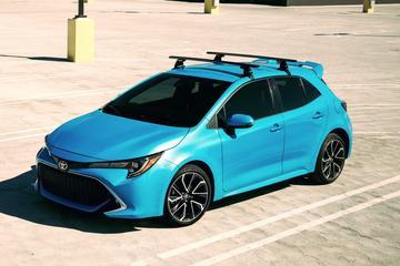 Amerikaanse Toyota Corolla laat zich zien