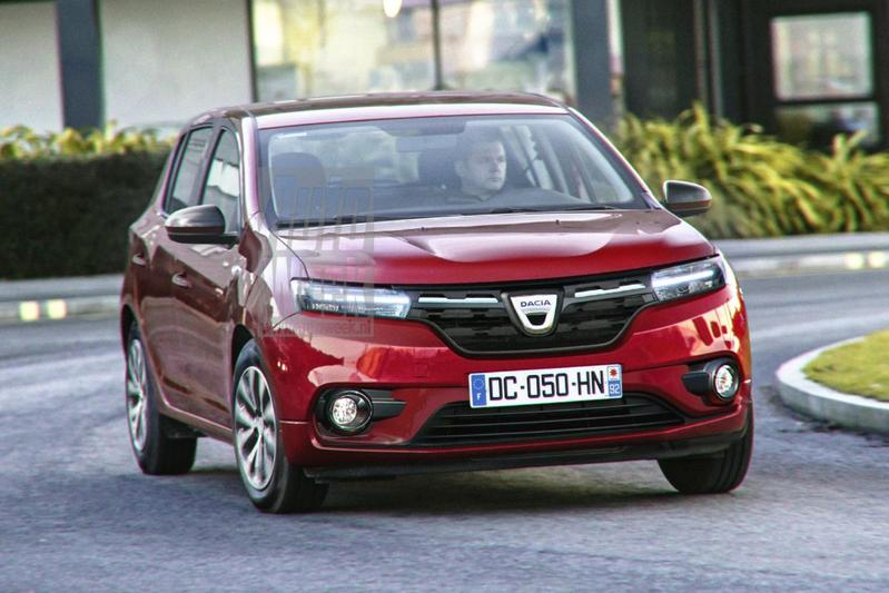 Dacia Sandero Stepway render 2020