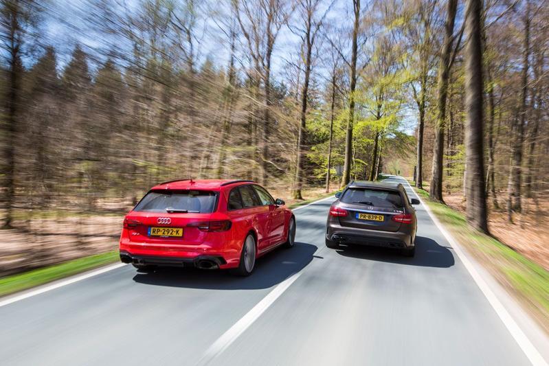Audi RS4 Avant vs. Mercedes-AMG C63 S Estate - Dubbeltest