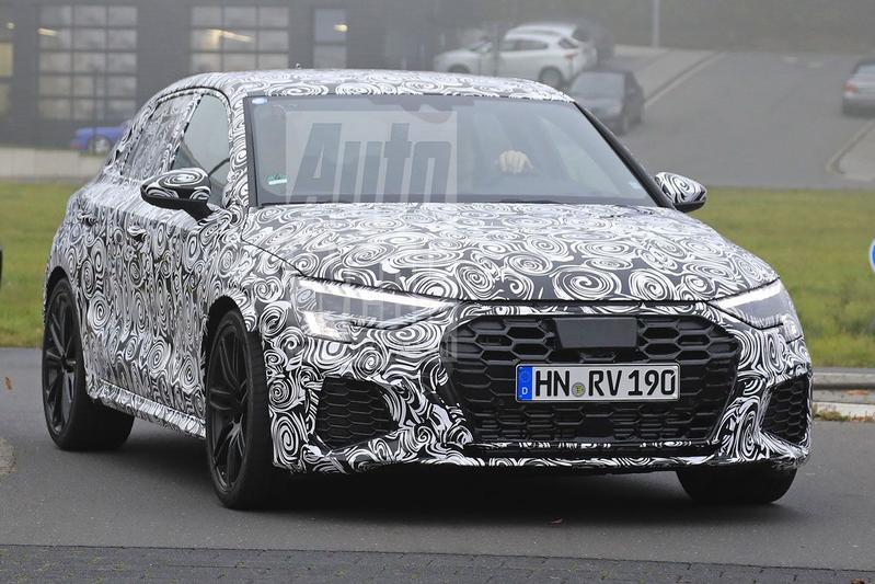 Audi RS3 spyshots