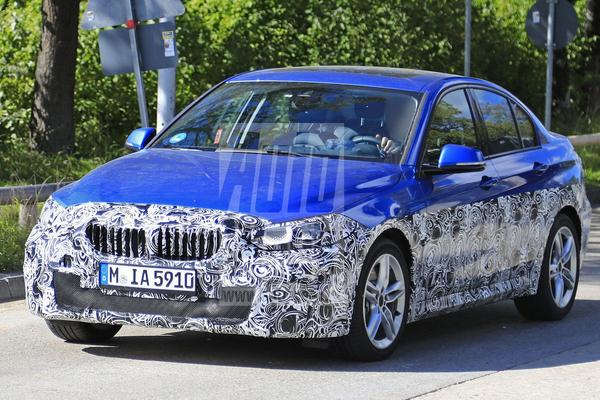 BMW 1-serie Sedan wederom in Europa