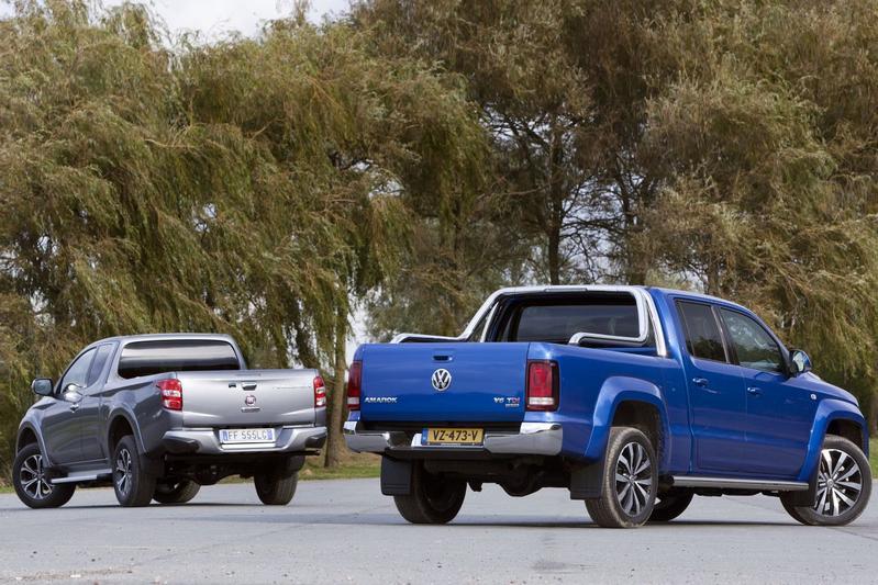 Fiat Fullback vs. Volkswagen Amarok