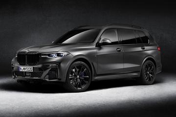 BMW X7 Dark Shadow Edition maakt naam waar