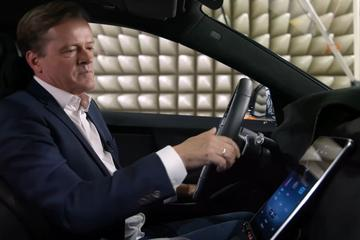Mercedes laat binnenkant nieuwe S-klasse deels zien