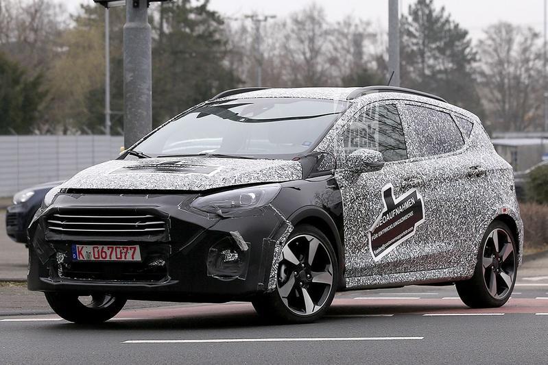 Spyshots Ford Fiesta