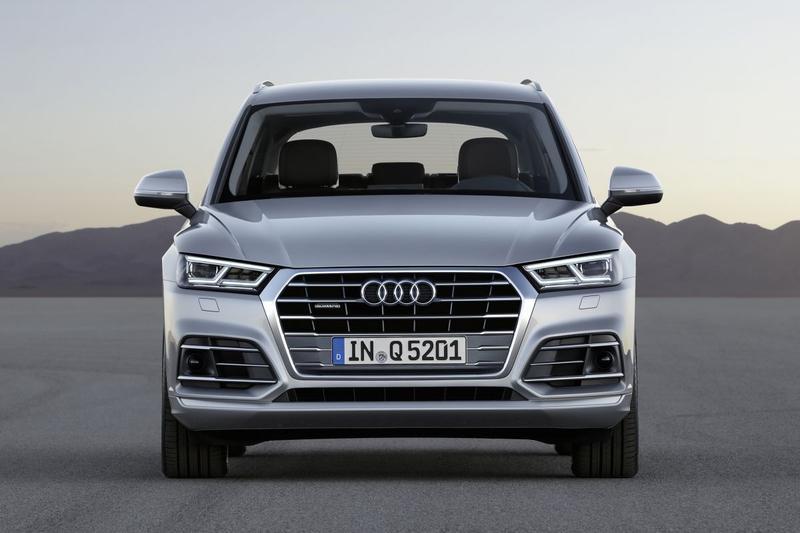 Audi Q5 voorkant