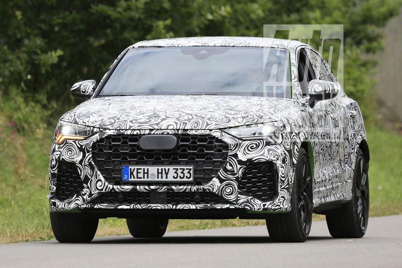 Audi RS Q3 Sportback spyshots
