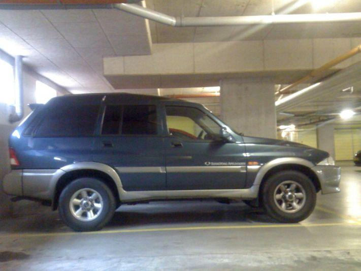 SsangYong Musso TDL 2.9 (2001)