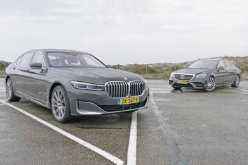 BMW 745LE - Mercedes-Benz S560E - Dubbeltest