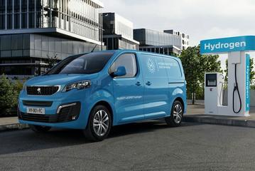 Peugeot e-Expert Hydrogen onthuld