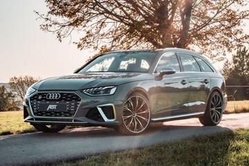 Abt sleutelt aan gefacelifte Audi S4