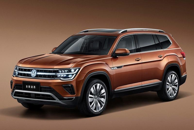 Volkswagen Teramont facelift