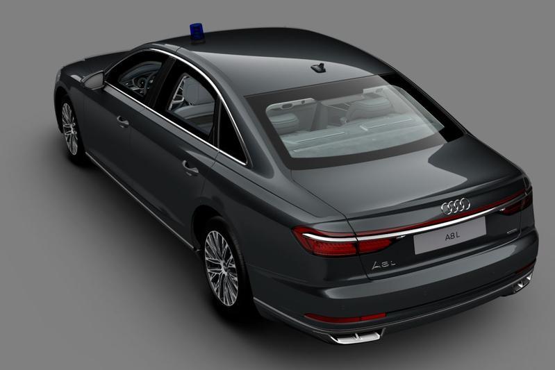 Audi A8 L Secutiry